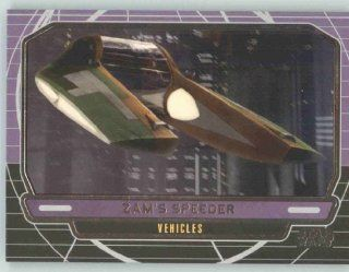 2012 Star Wars Galactic Files #251 Zam's Speeder (Non Sport Collectible Trading Cards) Toys & Games