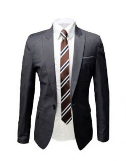 Tom's Ware Mens Casual Fashion One Button Dress Suit Jackets at  Men�s Clothing store Business Suit Jackets
