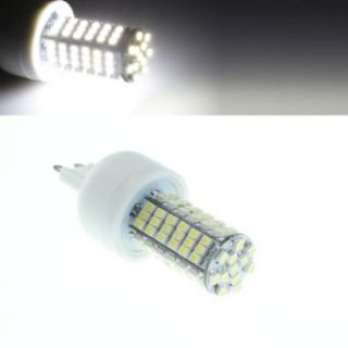 G9 6w 6500k 410 lumen 102x3528 SMD LED White Light Bulb (Ac 85~265v)   Led Household Light Bulbs