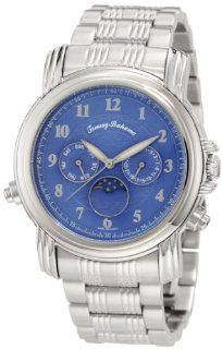 Tommy Bahama Swiss Men's TB3041 Chasing The Moon Swiss Moon Phase Blue Analog Watch Watches