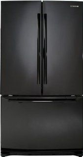 Samsung RF263AEBP 26 cu. Ft. French Door Refrigerator   Black Pearl Kitchen & Dining