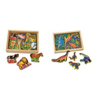 Melissa & Doug® Deluxe Magnetic Animals & Di