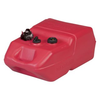 Moeller Marine EPA- Compliant Topside Fuel Tank — 6 Gallons, Low Profile, Model# 620049LP  Auxiliary Transfer Tanks