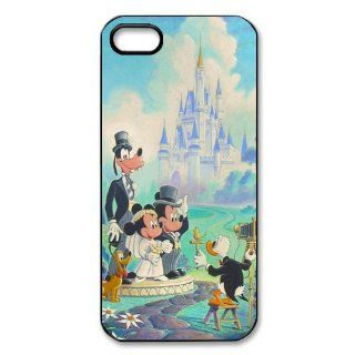 Mystic Zone Cartoon Disneyland Disney Castle Case for iPhone 5 Hard Cover Skin Fits Cases WSQ0991 Cell Phones & Accessories