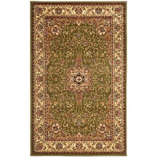 Lyndhurst Collection Floral Sage/ivory Rug (33 X 53)