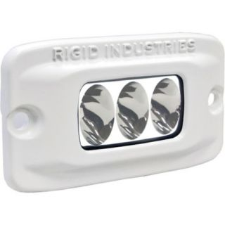 Rigid Industries MSR M2F Single Row Mini Amber LED Flush Mount Light Driving 759676