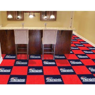 IFS   New England Patriots NFL Team Logo Carpet Tiles