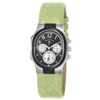 Philip Stein Women's 22TB FB SMLG Classic Light Green Leather Strap Watch Philip Stein Watches