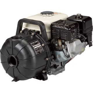 Pacer Self-Priming Chemical/Water Pump — 2in. Ports, 12,000 GPH, 160cc Honda GX160 OHV Engine, Model# SE2RL E5HCP  Engine Driven Chemical Pumps