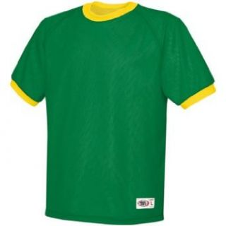 High Five Youth Mini Mesh Kelly Green Gold Soccer Jersey   Youth S Clothing