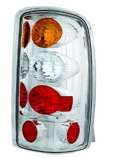 IPCW CWT CE304CA Crystal Eyes Crystal Amber/Clear/Red Tail Lamp for Barn Doors and Lift Gate   Pair Automotive