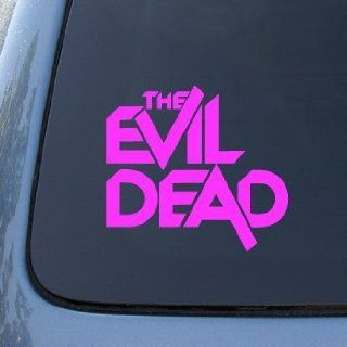 THE EVIL DEAD   Vinyl Car Decal Sticker #1830  Vinyl Color Pink Automotive