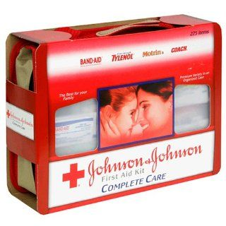Johnson & Johnson First Aid Kit, Complete Care, 225 Piece Kit Health & Personal Care