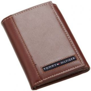 Tommy Hilfiger Men?s Cambridge Trifold Wallet, Tan, One Size at  Men�s Clothing store