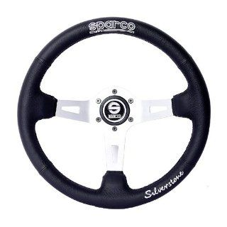 350mm SPARCO RAC Racing Suede Steering Wheel Automotive