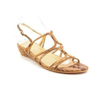 Stuart Weitzman Tweedfour Womens Open Toe Leather Dress Sandals Shoes Shoes