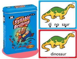 Syllable Drilling Fun Deck Cards   Super Duper Educational Learning Toy for Kids Toys & Games