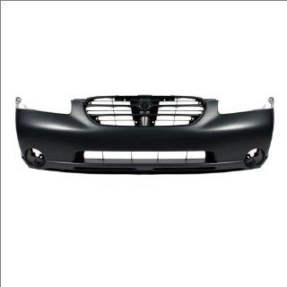 CarPartsDepot, Front Bumper Cover Primed Black Smooth Plastic Assembly, 352 36879 10 PM NI1000174 620222Y925 Automotive