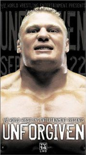 WWE Unforgiven 2002 [VHS] Brock Lesnar, Mark Calaway, Paul Levesque, Rob Van Dam, Chris Jericho, Richard Fliehr, Nora Greenwald, Trish Stratus, Chris Benoit, Kurt Angle, Eddie Guerrero, Adam Copeland, Kevin Dunn, Vince McMahon Movies & TV