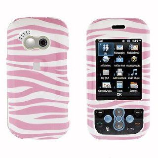Premium   LG GT365/Neon Pink Zebra Cover   Faceplate   Case   Snap On   Perfect Fit Guaranteed Cell Phones & Accessories