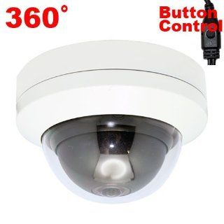"GW Security 700TVL 1/3"" Sony Super HAD II CCD Double Scan 360 Degree Wide Angle Dome Indoor CCTV Security Camera   700 TV Lines, Panoramic 360 Degree Lens. OSD Menu. Advanced DSP to Offer High Image Quality  Camera & Photo"