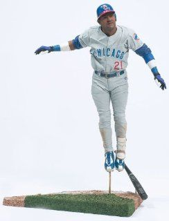 McFarlane's Sports Picks MLB Series 6   Sammy Sosa in White Jersey w/ Blue Stripes Toys & Games