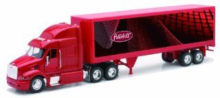 Peterbilt 387 Container 132 Diecast Truck Red Tractor Trailer Toys & Games