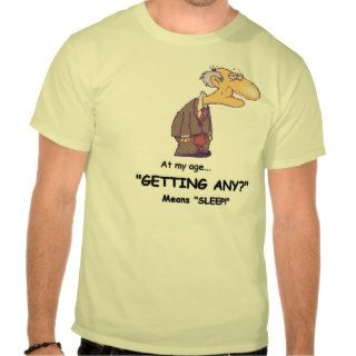 Men's  Funny Senior Citizen Tee
