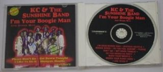 Harry Wayne Casey KC & The Sunshine Band I'm Your Boogie Man Signed Autographed Disco Cd Loa Entertainment Collectibles