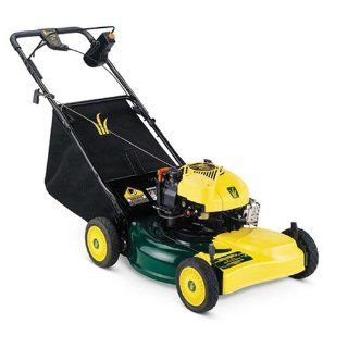 Yard Man 21 Inch Gas Powered Self Propelled Lawn Mower 12A 449T402 (Discontinued by Manufacturer)  Walk Behind Lawn Mowers  Patio, Lawn & Garden