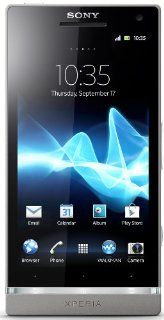 Sony Xperia SL LT26II Unlocked Android Phone  U.S. Warranty (Silver) Cell Phones & Accessories