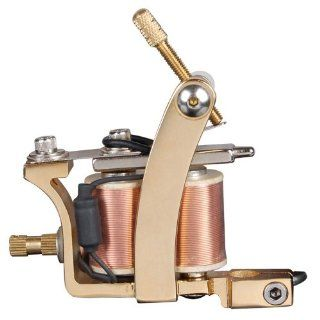 Professional 24k Gold Plated Tattoo Machine Health & Personal Care
