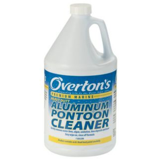 Overtons Heavy Duty Aluminum Pontoon Cleaner 1 Gallon 718087
