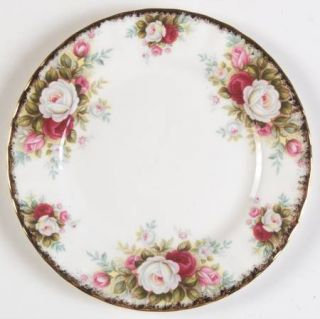 Royal Albert Celebration Bread & Butter Plate, Fine China Dinnerware   Montrose
