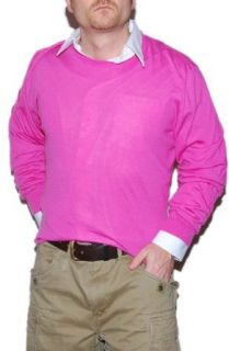 Polo Ralph Lauren Purple Label Mens Cashmere Sweater Pink Italy XXL at  Men�s Clothing store