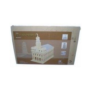 Wooden Nauvoo Temple Puzzle Model Lds Mormon Toys & Games
