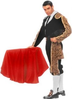 Adult Bull Fighter Halloween Costume (Size Large 42 44) Clothing