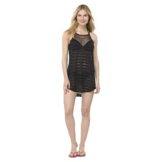 Juniors Cover up Swim Dress  Black L