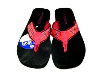 Campus Gear South Carolina Gamecocks Flip Flops (W 5/6   Small) Clothing