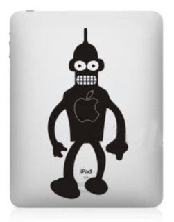 Big Dragonfly Stylish Creative Logo Vinyl Decal Sticker for Apple iPad mini Scary Man with Pinhead Computers & Accessories