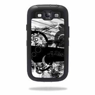 MightySkins Protective Vinyl Skin Decal Cover for OtterBox Defender Samsung Galaxy S III S3 Case Sticker Skins Confusion Cell Phones & Accessories
