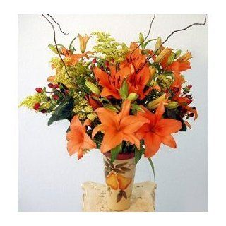 Splash of Sunshine Fresh Flower Bouquet  Fresh Cut Format Mixed Flower Arrangements  Grocery & Gourmet Food