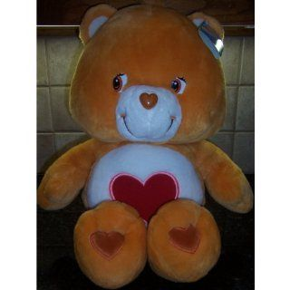 "Care Bears JUMBO SIZE TENDERHEART BEAR 25"" Plush (MINT WITH TAGS) Toys & Games"