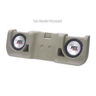 MTX ThunderForm CXP20T T45 Tan Chevy/GMC Extra Cab Box w/Subs  Vehicle Subwoofers  Electronics