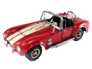 Tinplate Model Car   1966 Shelby AC Cobra 427   Red 112 scale   Collectible Vehicles