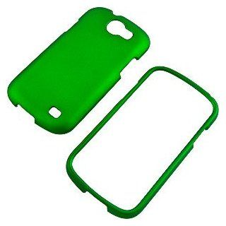 Green Rubberized Protector Case for Samsung Galaxy Express SGH i437 Cell Phones & Accessories