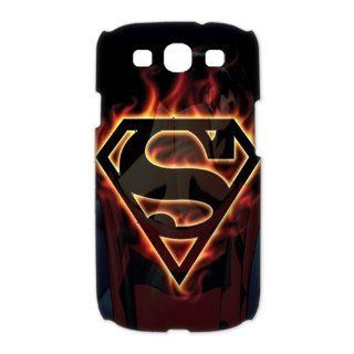 Custom Superman 3D Cover Case for Samsung Galaxy S3 III i9300 LSM 3374 Cell Phones & Accessories