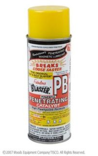 "TISCO   PART NO PB16. PB ""BLASTER"" PENETRATING OIL.AEROSOL SPRAY CAN, NET WT"