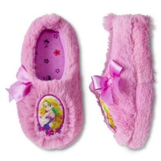 Disney Princess Rapunzel Toddler Girl Scuff Slippers Size Medium (7 8) Shoes