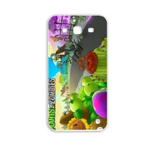 Diy Samsung Galaxy S3 i9300 Phone Case Personalized Gift Games plants vs zombies Games White Cell Phones & Accessories
